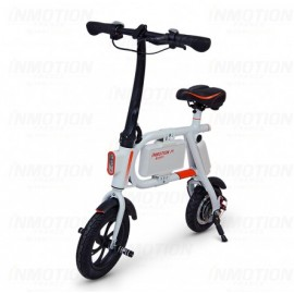 Mini scooter électrique Inmotion P1 vu de trois quarts