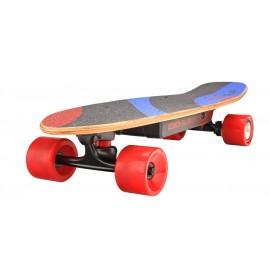 Skateboard électrique EVO SLR de dos vu de trois quarts