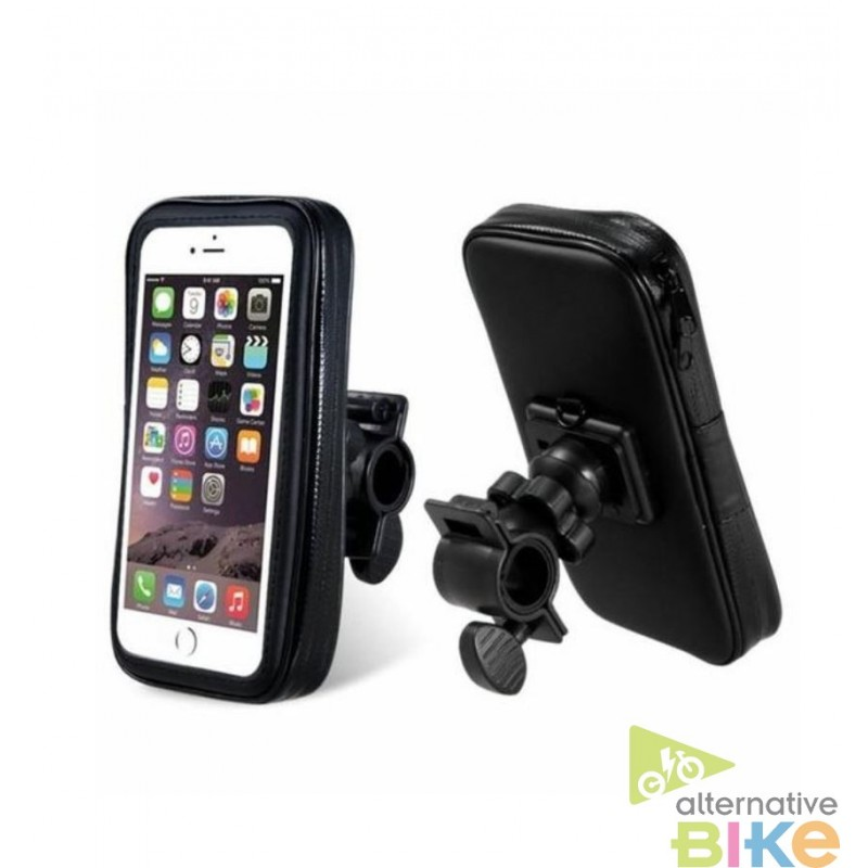 Support guidon pour smartphone for Housse pour telephone