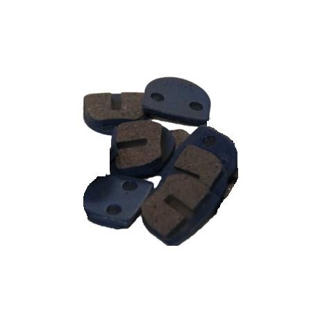 Plaquette de frein bleu pour trottinette électrique