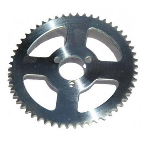 Couronne plateau pour roue arriere trottinette 54 dents