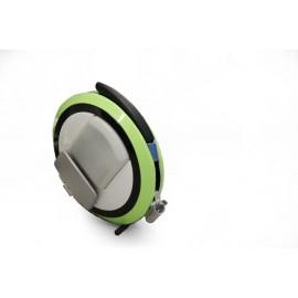La gyroroue avec la coque verte