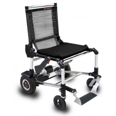 Fauteuil roulant électrique Zinger confortable et léger