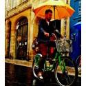 Porte parapluie vélo Le Popins