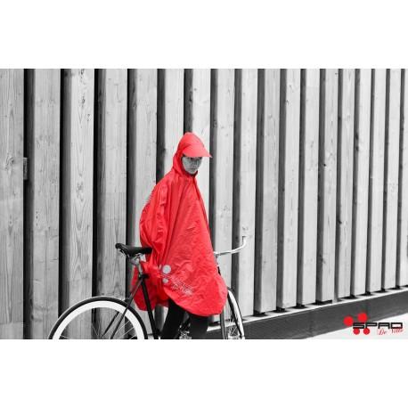 Poncho rouge spad de ville